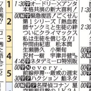 【『ごくせん』再放送】古いTVドラマも、なかなか面白い