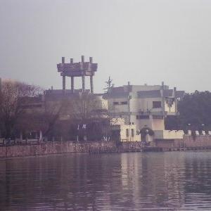 """中共、建党100周年を前にして """"嘉興駅から南湖周辺、革命記念館のそばの洗濯物まで"""""""