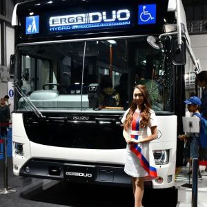 東京モーターショー2019年③(トラック&バス)