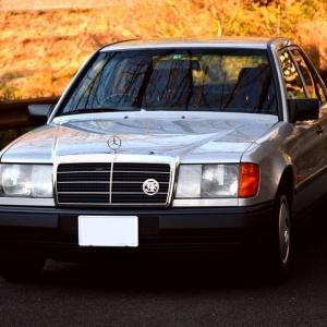 【W124】「昭和のW124」5万キロマイレージ達成!
