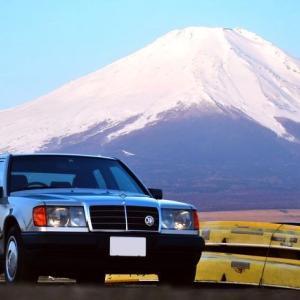 【W124】「昭和のW124」で初めて訪れた山梨
