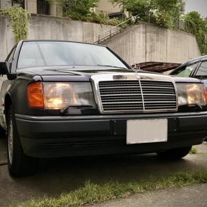 【W124】「ミッドナイトブルー号無事納車されました