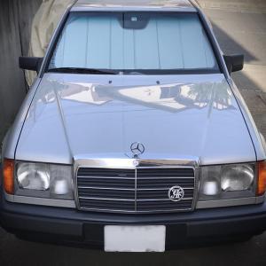 【W124】W124用サンシェードを追加発注!
