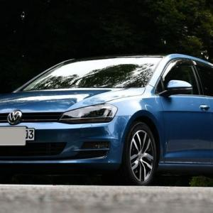 【VW】VWゴルフ・スカイブルー号@明治神宮・神秘の森