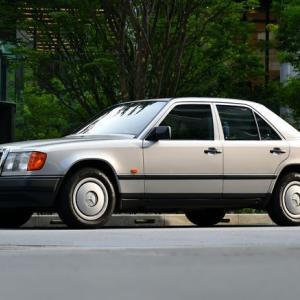 【W124】「昭和のW124」束の間の夏休みの早朝ドライブ