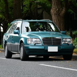"""【W124】""""ベリルワゴン""""@神宮外苑モーニングクラシックミート"""
