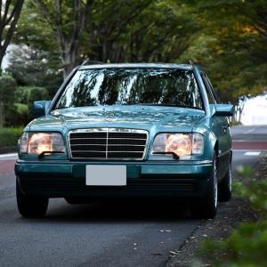 【W124】「ベリルワゴン」早朝ロケ@町田緑山~寺家ふるさと村