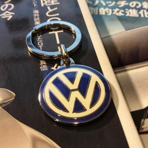 【VW】キーホルダーをフライングゲット!