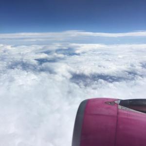 札幌へLCCの飛行機で向かう途中「命の危険にさらされ、生きてて良かったと思えた!!」 そして、サッポロビール園へ