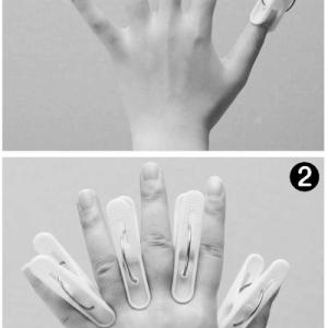 東洋医学の‶手指鍼″!洗濯ばさみ健康法で全身の不快症状を改善!