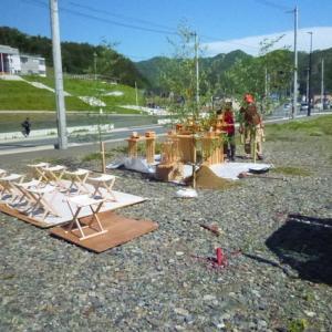◆ 昨日は新しい店舗の地鎮祭 (釜石 鵜住居 喜楽)