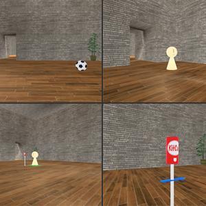 視点変換3Dルームと、他者視点と4次元の関係について