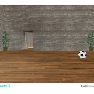 「視点変換3Dルーム」というのをUnityで作りました