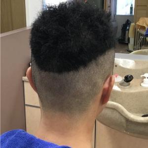 八村塁みたいな髪型がいい