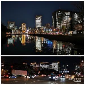 【東京夜景】皇居界隈