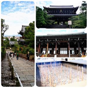 京都観光 〜 知恩院&八坂神社