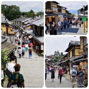 京都観光 〜 お昼ごはんは「おかべ家」