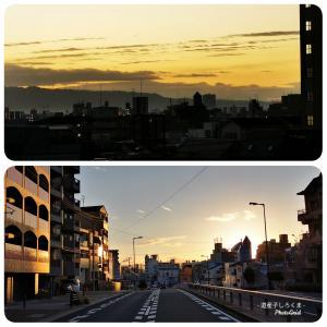 大阪の日の出・日の入り