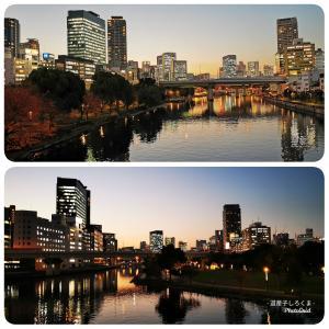 大阪の夜景!