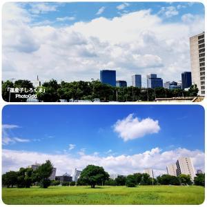 大阪はすでに夏の空…?