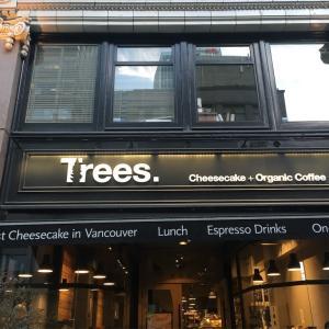 バンクーバーで人気のカフェ。チーズケーキ好きにはたまらない「Trees Organic Coffee」