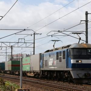 1050レ EF210-121 うーむな積荷。