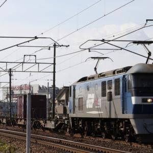 遅1050レ EF210-123 いつもの大型コンテナ群 福岡運輸