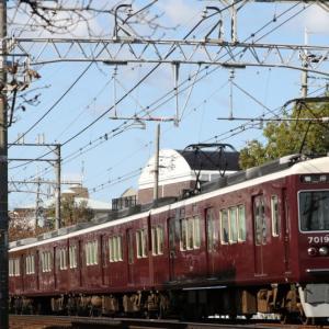 【阪急】 7019F 『特急』 いつもの阪急電車。