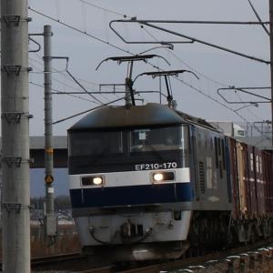1071レ EF210-170 鶴桃代走 旭カーボン×2、DAINICHI×2