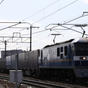 5070レ EF210-305 いつもの貨レ DAINICHI、カルちゃん、AEON&Nestleコラボ