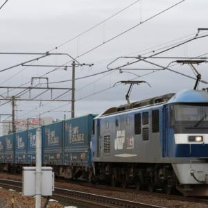 8056レ EF210-153 54 BIG ECO LINER31 がいっぱい