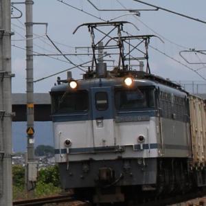 5087レ EF65 2095 青プレ参上! コキ104-104