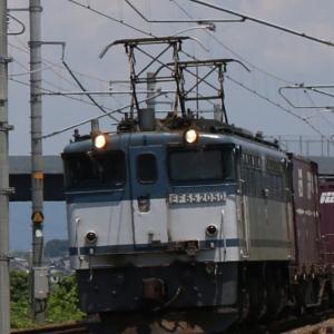 5087レ EF65 2050 白プレ参上! JOTグリーンライン&サクラライン