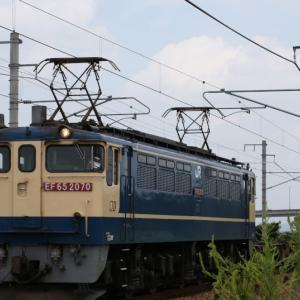 5087レ EF65 2070 いつものPF