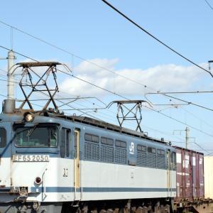 5087レ EF65 2050 白プレ参上! コキ106-777