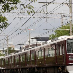 【阪急】 1016F 『普通』 続行列車は連番だよ。