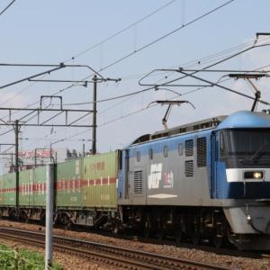 56レ EF210-159 いつもの福通レールExp.
