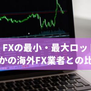 Titan FXの最小・最大ロット数と他の海外FX業者との比較