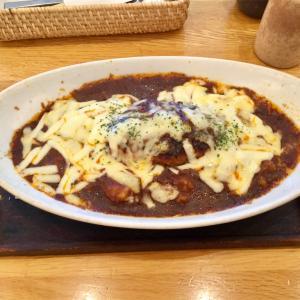 🚩外食日記(131)    宮崎ランチ   「クレイトンハウス」より、【ハンバーグドリアのランチセット】‼️
