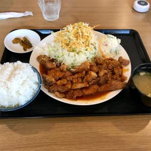 🚩外食日記(137)    宮崎ランチ   「外山食堂」より、【元祖!宮崎トンテキ定食(大)】‼️