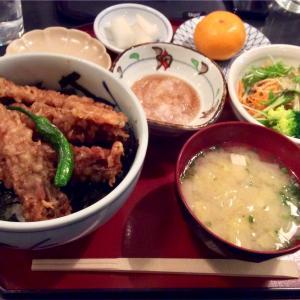 🚩外食日記(172)    宮崎ランチ   「いせえび料理 よしき」より、【びっくり!エビ天丼】‼️