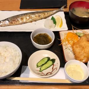 🚩外食日記(173)    宮崎ランチ   「おさかな料理」③より、【地魚焼定食(限定)】【地魚フライ(単品)】‼️