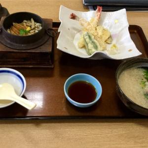 🚩外食日記(182)    宮崎ランチ   「海鮮茶屋 うを佐」④より、【釜めし大えび天ぷら御膳】‼️