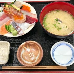🚩外食日記(217)    宮崎ランチ   「長谷川水産」より、【海鮮丼セット(小)】‼️