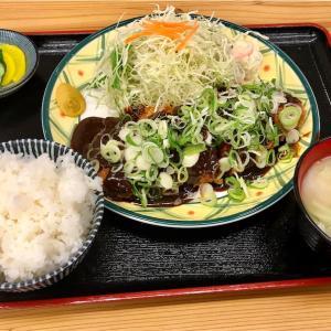 🚩外食日記(226)    宮崎ランチ   「とんかつ十兵衛」より、【ねぎ味噌上ロース定食】‼️