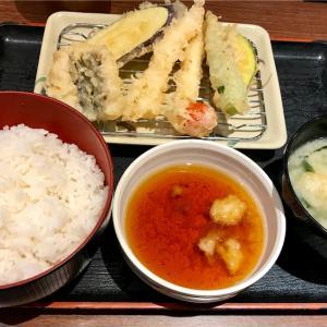🚩外食日記(229)    宮崎ランチ   「武蔵野天ぷら道場」⑤より、【ミックス天定食】‼️