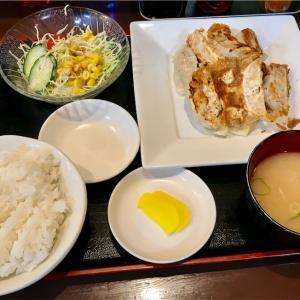 🚩外食日記(273)    宮崎  「日向路」④より、【ギョーザ定食】‼️
