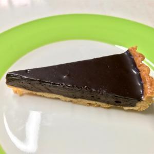 🚩外食日記(275)    宮崎   「Vanille (ヴァニーユ)」⑥より、【チョコレートタルト】【くるみとキャラメルのタルト】‼️