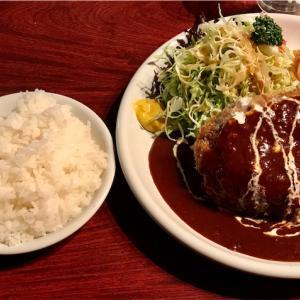 🚩外食日記(282)    宮崎ランチ   「レストラン ラブ」⑧より、【メンチカツ(チーズ入り)】‼️