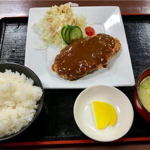 🚩外食日記(286)    宮崎  「日向路」⑤より、【ジャンボメンチカツ定食】‼️